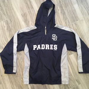 Other - ⚾️ youth Padres pullover windbreaker size large ⚾️